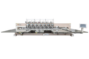 Single Needle beads & dual sequin and Multi-Cord combined Machine